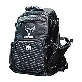 Inline Skates Travel Backpack (Black / Grey /White, Large)