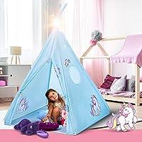 Atlasonix Unicorn Tepee Play Tent Indoor and Outdoor