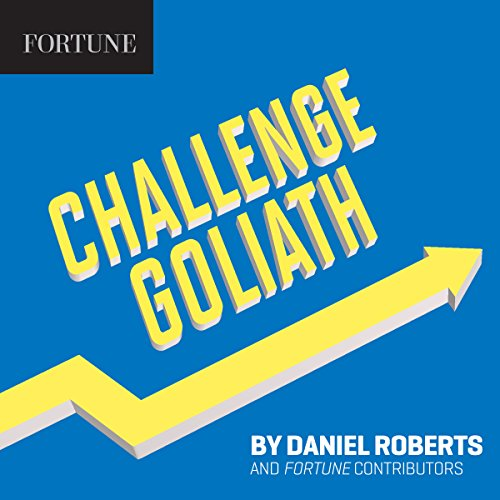 Challenge Goliath audiobook cover art