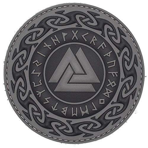 Viking Valknut Morale Tactical PVC Rubber Patch