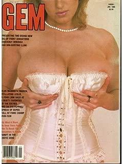 GEM MAGAZINE / JANUARY 1985 / DARLENE ENGLISH / DEBBIE JORDAN / DONNA AMBROSE