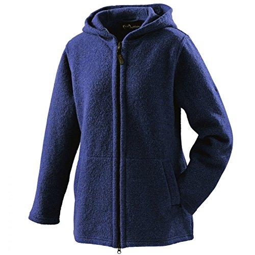 Mufflon Damen Wolljacke Mu- Mia Nachtblau - L