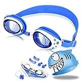 OTraki Schwimmbrille Kinder Taucherbrille Kinder Schwimmbrillen Set mit Antibeschlag und UV Schutz...