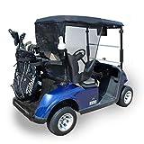 Greenline Eevelle 2 Passenger Golf Cart Sun Shade Yamaha, Club Car, Ezgo Heavy Duty, UV Protection Khaki Black