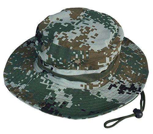 COMVIP COMVIP Sommer Damen Herren wasserdichte Camping Hut Wanderhut Fischerhüte Sonnenhüte Boonie Hat Farbe A