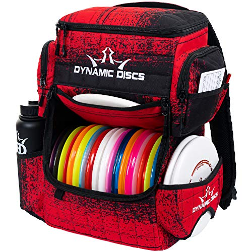 Dynamic Discs Ranger Disc Golf Backpack   Large Main Compartment That Can Hold 18+ Discs   On-Deck Disc Golf Putter Pouch Capable of Holding Two Disc Golf Putters (Atomic)