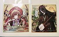 第五人格 一番くじ 結魂者 バイオリニスト D賞 メタリック色紙 2点セット ファミリーマート ファミマ