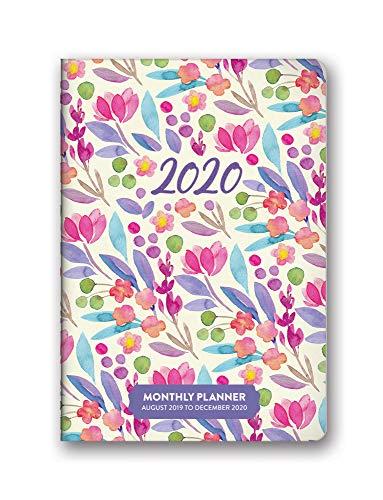 Orange Circle Studio 2020 Monthly Pocket Planner, Bold Blossoms
