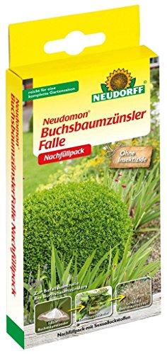 Neudorff Neudomon Lot de 2 recharges pour pyrale du buis