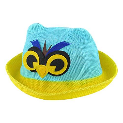 Chapeau bébé Chapeau de paille Chapeau de soleil d'été Bébés garçons et les fill