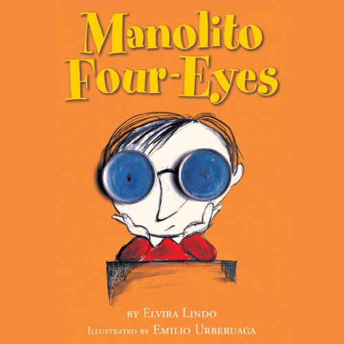 Manolito Four-Eyes audiobook cover art