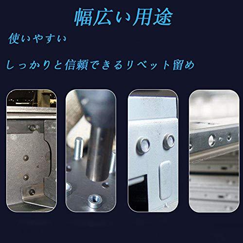 ハンドリベッターセット110セットブラインドリベットナットリベッターリベットナッターリベットガンナットリベッターハンドナッターリベッターガンリベットツールリベット用工具ナッターM3/M4/M5/M6/M8/M10/M12式などに対応