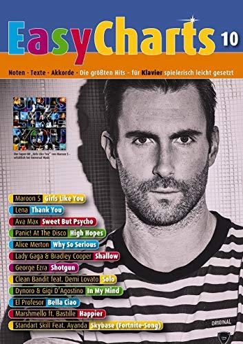 Easy Charts: Die größten Hits spielerisch leicht gesetzt. Band 10. Klavier / Keyboard. Spielbuch. (Music Factory)