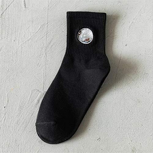 Heliansheng Hip Hop Socks Unisex Sports Socks Fun Skateboard Socks Streetwear Casual Socks -7-One Size