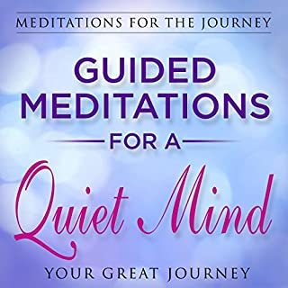 Guided Meditations for a Quiet Mind  audiobook cover art