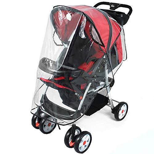 Infreecs Regenschutz für Kinderwagen, Regenverdeck Regenhaube für Buggy und Sportwagen | Gute Luftzirkulation | einfache Montage an jedem Kinderwagen