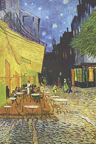Van Gogh Journal 30 Vincent Van Gogh Notebook Journal To Write In 6x9 150 Lined Pages Cafe Terrace product image