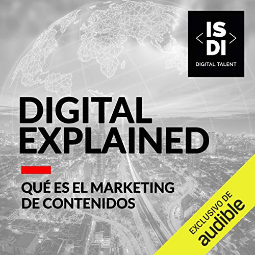 Diseño de la portada del título Qué es el Marketing de contenidos