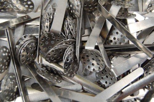10 x Stahlhängesiebe (12 mm) für Bongs / Chillum