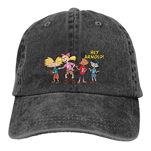 Hey Arnold Adjustable Cowboy Hat Black