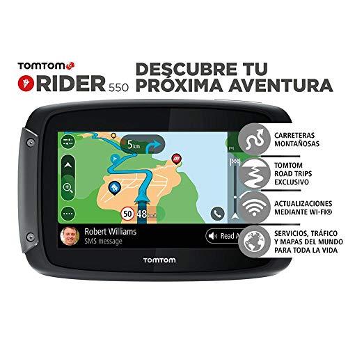 TomTom Rider 550 Premium Pack Navigatore per Moto
