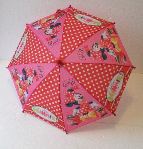 Disney Regenschirm Minnie Maus Look at me Kinderschirm Mädchen Minnie Mouse 65cm