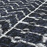 Paco Home In- & Outdoor Teppich Skandi Mustermix Terrassen Teppich Schwarz, Grösse:120x170 cm - 3