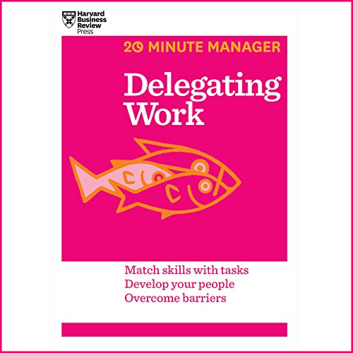 Delegating Work audiobook cover art