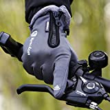 Zoom IMG-1 lixada guanti sportivi invernali tenere