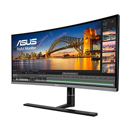 ASUS ProArt PA34VC - Monitor Profesional Curvo 34.1 Pulgadas (UWQHD,...
