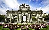 Puzzles para adultos y niños, juguetes educativos de madera del Palacio Real de Madrid, puzzles y puzzles (1000 piezas)