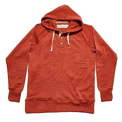 The Normal Brand Puremeso Hoodie - Rust, S