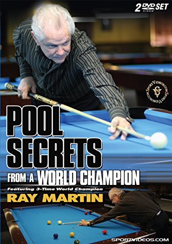 Pool Secrets from a World Champion Two DVD Set - Billiards Lessons from Ray Martin