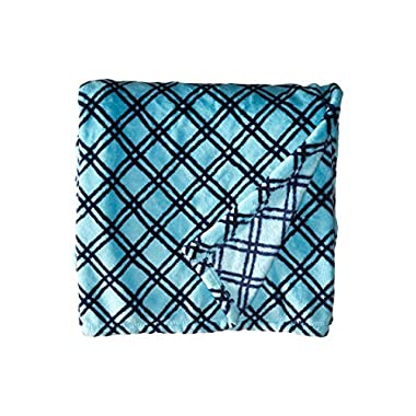 Vera Bradley Women's Fleece Travel Blanket Cuban Lattice Blanket