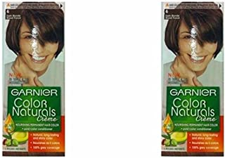 Garnier Color Naturals Crème Twin Pack, 6 Dark Blonde, 110 ml