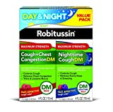 Best Cough Syrups - Robitussin Day & Night Max Strength Cough + Review