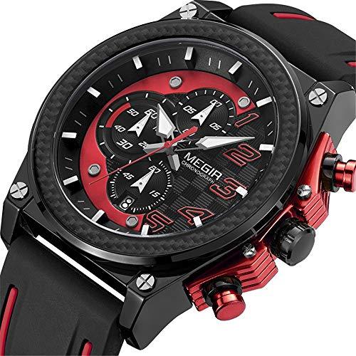 Heren Horloges Luxe Zakelijke Analoog kwarts Multifunctionele Horloge Datum Kalender Timer Casual Mode Klassieke Eenvoudige Ontwerper voor Mannen