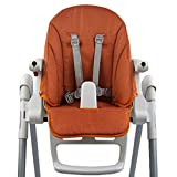 Bambiniwelt - Funda de repuesto para cojín de asiento Peg Perego Zero3 y Siesta Meliert naranja naranja
