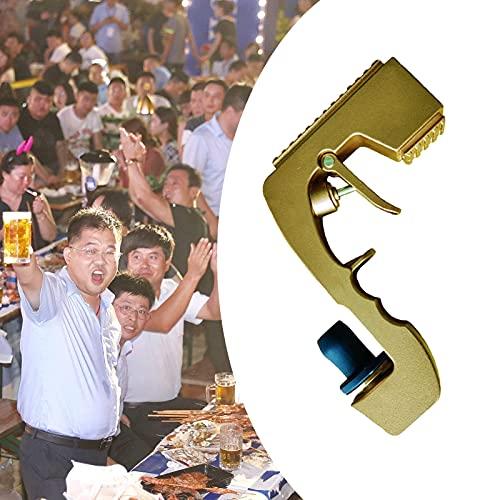 WFSH Champagnerpistolen-Sprüher, Champagner-Sprühpistole, Weinpistolen-Shooter, Flaschenpistole, lustige Hochzeitsfeier Nachtclub-Bar-Tool-Silber