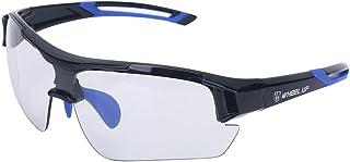 Gafas de sol fotocromáticas unisex, Protección UV a prueba de viento Gafas de bicicleta Gafas de seguridad fotocromáticas Polarizadas para deporte al aire libre Ciclismo de montaña Motocycle Driving S