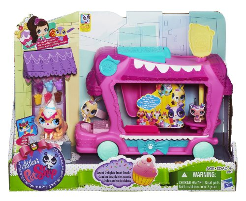 Hasbro A1356E24 - Littlest Pet Shop Bonbon-Bus