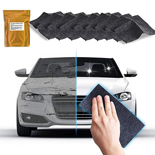 8 Pack-Upgraded Nano Magic Car Scratch Remover Cloth, Multipurpose Scratch Repair Cloth, Car Paint Swirl Remover, Polish & Paint Restorer - Easily Repair Paint Scratches, Water Spots