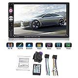 ranninao Autoradio Bluetooth Mit Bluetooth Freisprecheinrichtung USB Touchscreen Fernbedienung 7-Zoll-2-DIN-Autoradio-Bluetooth-Note MP5-Player USB FM-Radio