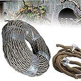 Jungle Vines Terrarium Reptile Flexible Bendable Vines Climber Decoración De Hábitat Accesorios 100 Cm