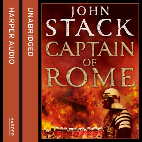 Captain of Rome audiobook cover art