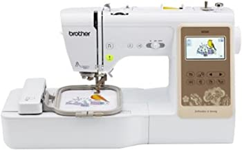 Brother SE625 Combination Computerized Sewing and 4×4 Embroidery Machine with Color..