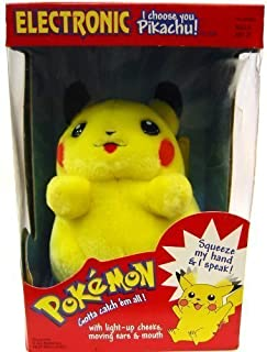 Hasbro Pokemon Electronic I Choose You Pikachu! Plush