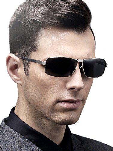 ATTCL Uomo Occhiali da Sole Polarizzati Metallo