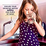 Lead Iron Copper and Mercury - Home Water Test Kit for Well Tap and Drinking Water | Fast & Accurate Quality Testing to EPA standards | Easy to Use and Sensitive Tester Strips Made in USA Ensure your drinking water is safe for children