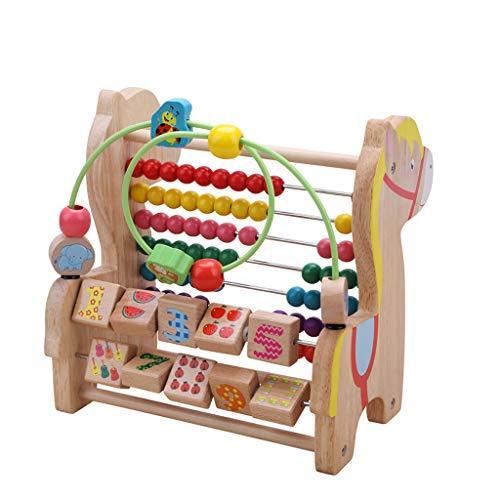 Jouets pour bébé, Jouets éducatifs en Perles de rocaille 6-12 Mois garçon Fille bébé 1-2-3 Ans Enfants éducation précoce Blocs de Construction